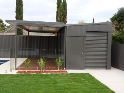 Shed, Verandah, Decking and Pool Fence