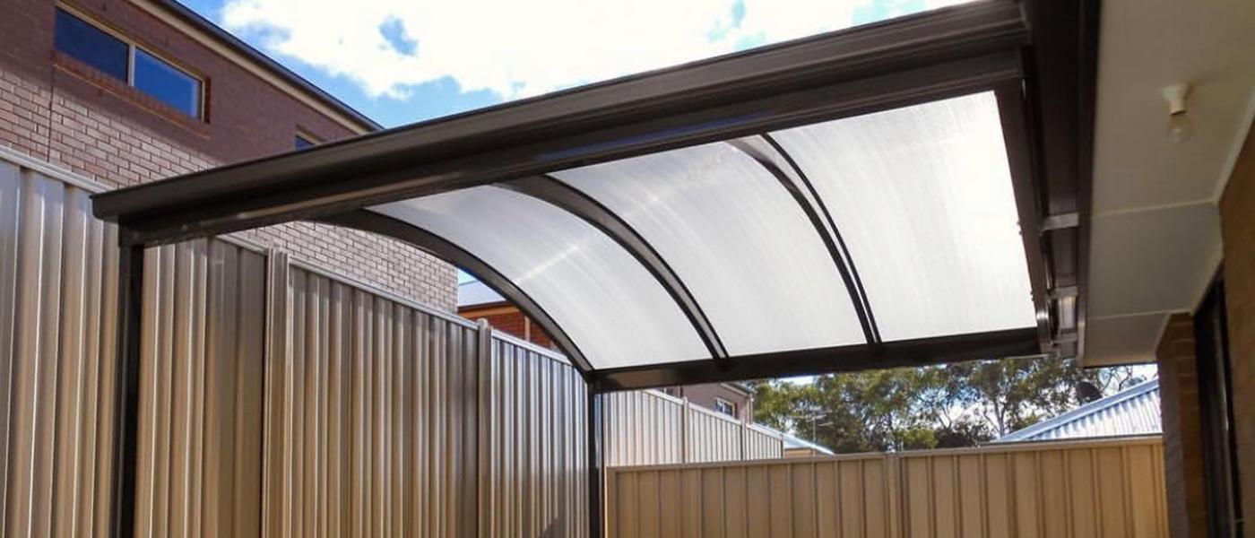 Curved Verandah Roofing