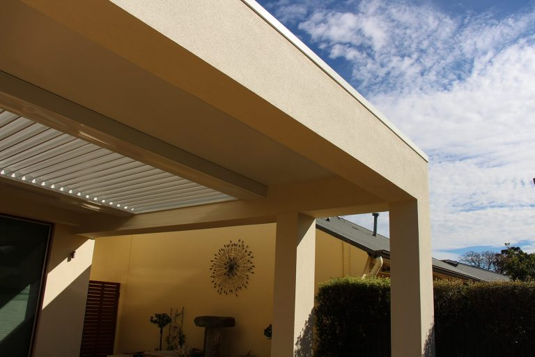 Alfresco Verandah with added Bulkhead